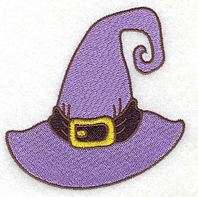 Embroidery Design: Witches hat  3.47w X 3.51h