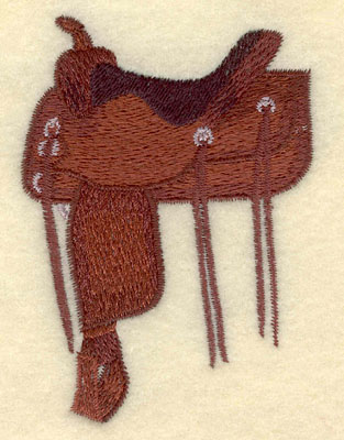 Embroidery Design: Draft Saddle Small2.52w X 3.54h