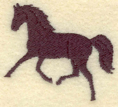 Embroidery Design: Horse1.92w X 1.66h