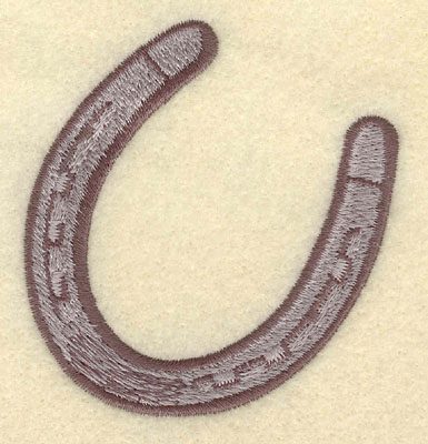 Embroidery Design: Horseshoe II Small2.81w X 3.01h