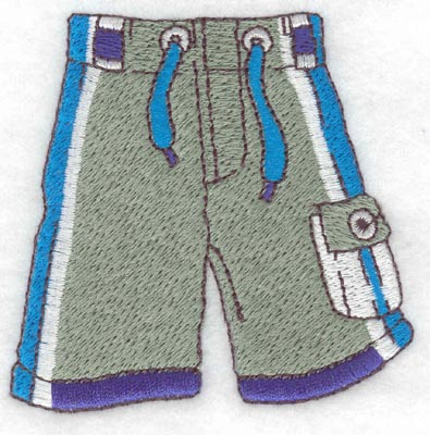 Embroidery Design: Swim trunks2.91w X 2.85h