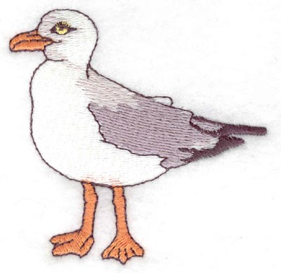 Embroidery Design: Seagull2.99w X 3.00h
