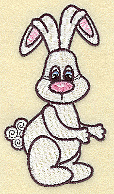 Embroidery Design: Easter bunny large 2.79w X 4.96h