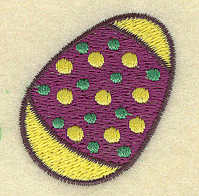 Embroidery Design: Easter egg B  1.64w X 1.76h