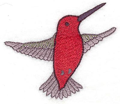 Embroidery Design: Hummingbird 104 small 3.42w X 2.98h