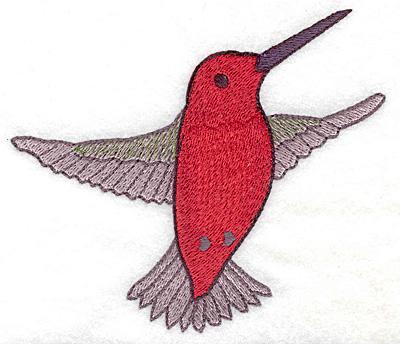 Embroidery Design: Hummingbird 105 large 4.96w X 4.31h