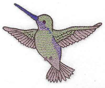 Embroidery Design: Hummingbird 106 small 3.48w X 2.83h