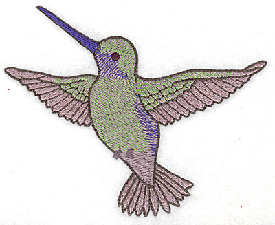Embroidery Design: Hummingbird 107 large  4.98w X 4.04h