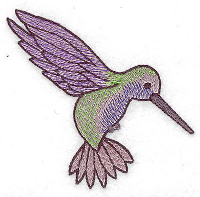 Embroidery Design: Hummingbird 110 small 3.39w X 3.24h