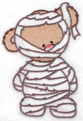 Embroidery Design: Mummy bear large 3.36w X 4.95h