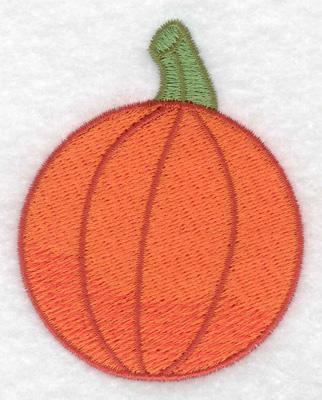Embroidery Design: Pumpkin 2.39w X 3.03h