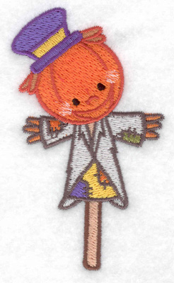 Embroidery Design: Scarecrow 2.31w X 3.83h