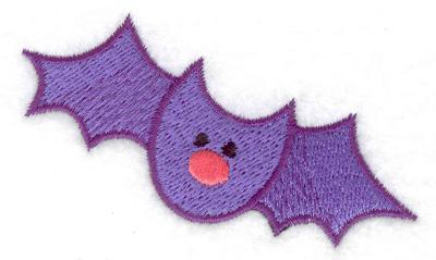Embroidery Design: Bat 3.03w X 1.94h