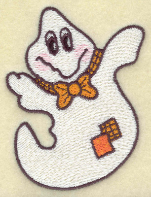 Embroidery Design: Ghost 2.71w X 3.54h