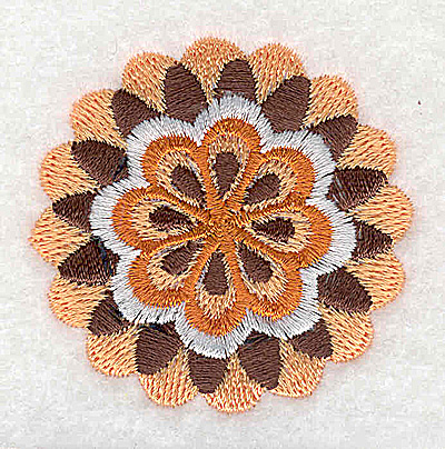 Embroidery Design: Flower H partial 2.01w X 2.00h