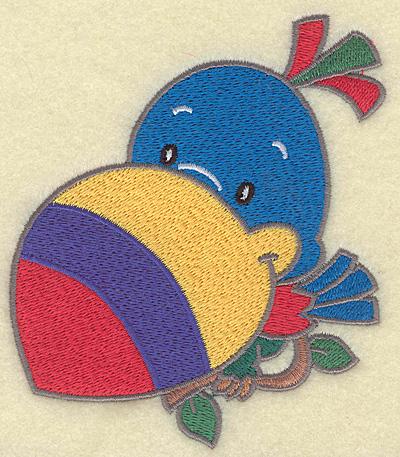 Embroidery Design: Toucan medium  4.32w X 4.98h