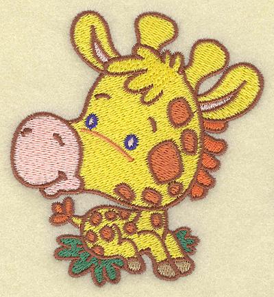 Embroidery Design: Giraffe small 3.59w X 3.88h