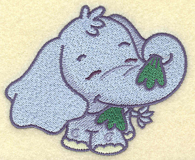 Embroidery Design: Elephant small 3.89w X 3.21h