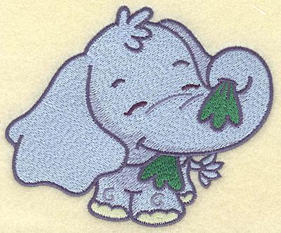 Embroidery Design: Elephant medium 4.98w X 4.11h
