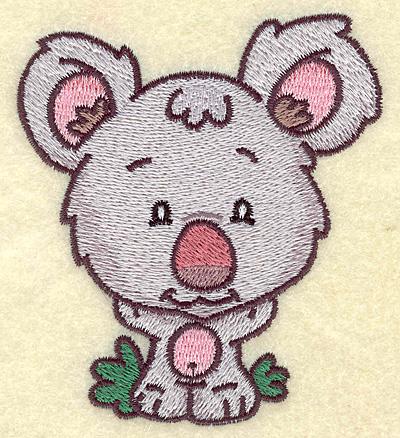 Embroidery Design: Koala bear small 3.43w X 3.88h