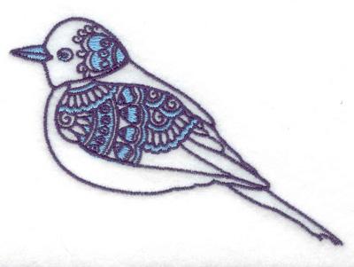 Embroidery Design: Bird A 3.88w X 2.60h
