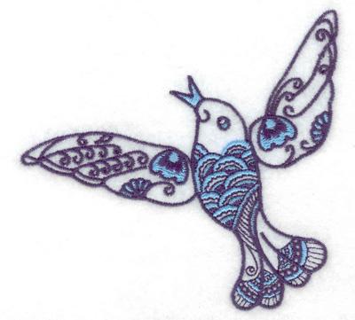 Embroidery Design: Bird G 3.89w X 3.67h