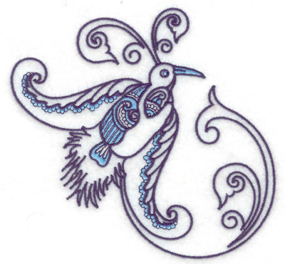 Embroidery Design: Bird I large 4.94w X 4.82h
