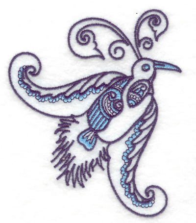 Embroidery Design: Bird I  3.25w X 3.88h