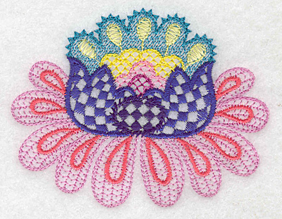Embroidery Design: Floral I 3.09w X 3.03h