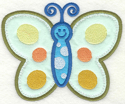 Embroidery Design: Butterfly 1 4.93w X 4.06h