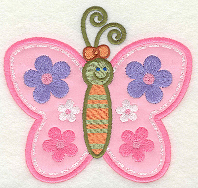 Embroidery Design: Butterfly 2 4.93w X 4.62h