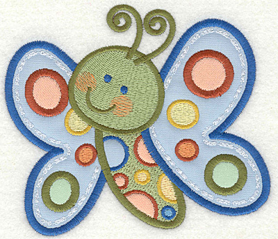 Embroidery Design: Butterfly 4 4.93w X 4.31h