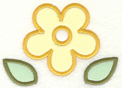 Embroidery Design: Flower2.93 x 4.12