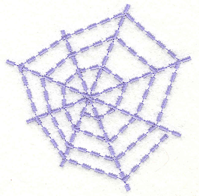 """Embroidery Design: Sprial Web  2.87"""" x 2.93"""""""