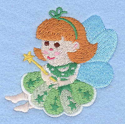 "Embroidery Design: Fairy C2.81"" x 2.77"""