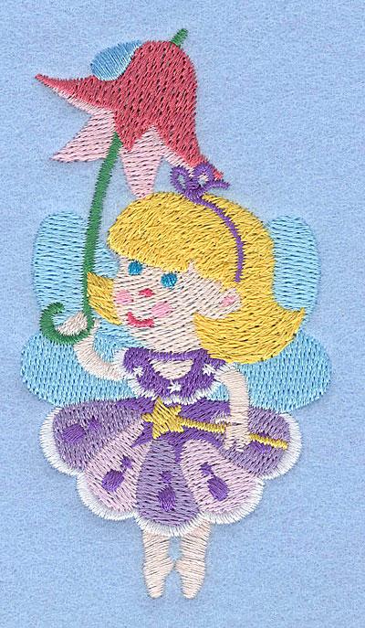 "Embroidery Design: Fairy D3.92"" x 2.10"""