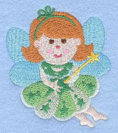 """Embroidery Design: Fairy E3.02"""" x 2.65"""""""