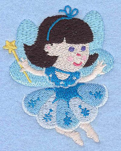 """Embroidery Design: Fairy F3.01"""" x 2.41"""""""