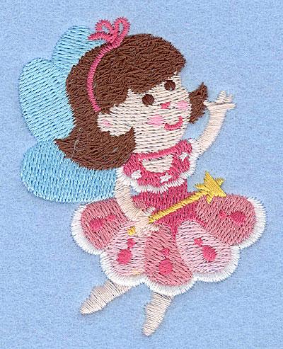 "Embroidery Design: Fairy G3.01"" x 2.37"""