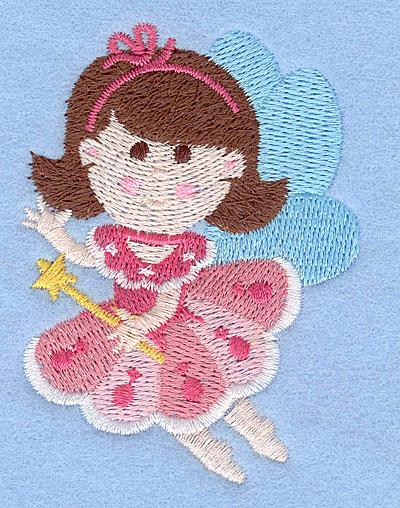 "Embroidery Design: Fairy H2.99"" x 2.16"""