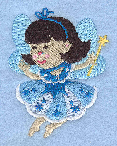 "Embroidery Design: Fairy J2.28"" x 2.25"""
