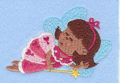 "Embroidery Design: Fairy K2.13"" x 3.08"""