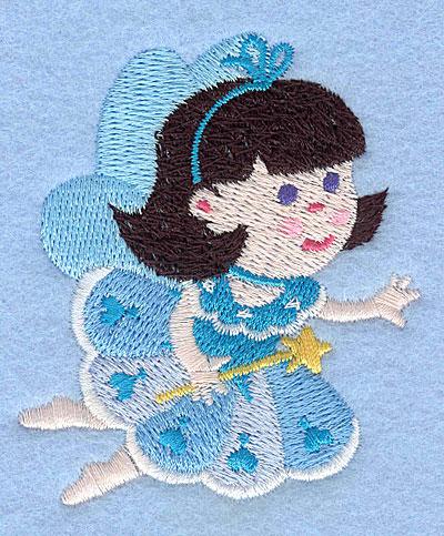 """Embroidery Design: Fairy L2.88"""" x 2.50"""""""