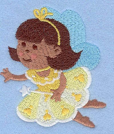 "Embroidery Design: Fairy M2.87"" x 2.50"""