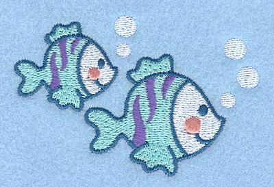 Embroidery Design: Fish3.50w X 2.21h