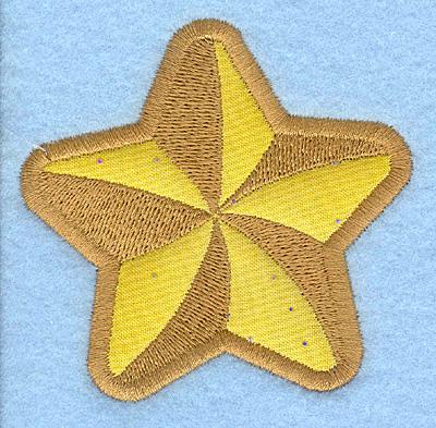 Embroidery Design: Star fish B applique3.01w X 2.95h