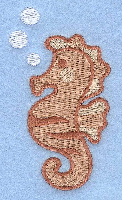 Embroidery Design: Seahorse 1.68w X 3.00h