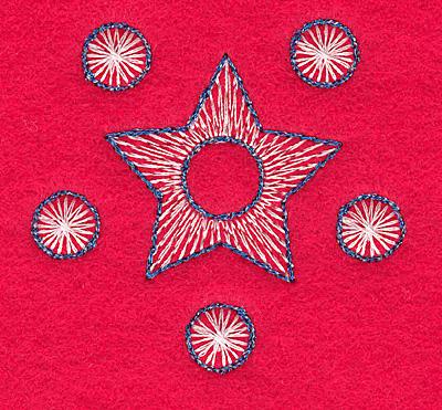 Embroidery Design: Snowflake L medium2.36w X 2.23h