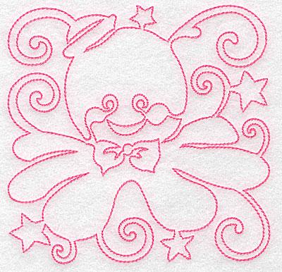 Embroidery Design: Octopus design medium 4.99w X 4.95h