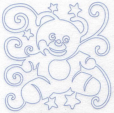 Embroidery Design: Teddy Bear large 7.03w X 7.02h